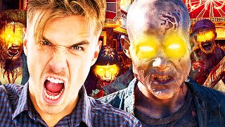 Funny ZOMBIE TROLLING on Shadows of Evil! (Black Ops 3 Trolling)
