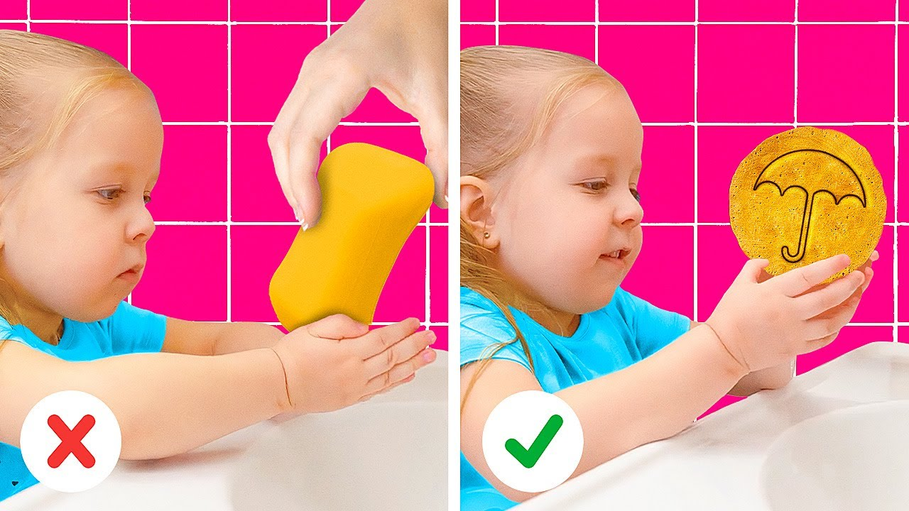 WHAT A CRAFTY PARENT!👨👩👧🤩 Brilliant Ways To Teach Your Kid ESSENTIAL THINGS