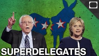 Why Superdelegates Favor Clinton to Sanders