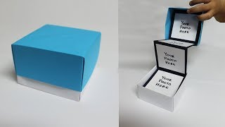 Diy Pull Out Photo Box   Photo Box For Boyfriend