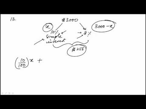 Algebra Problem 13 REVISED GRE MATH REVIEW OFFICIAL GUIDE