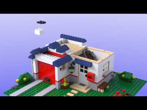 Lego 5891 Apple Tree House Youtube
