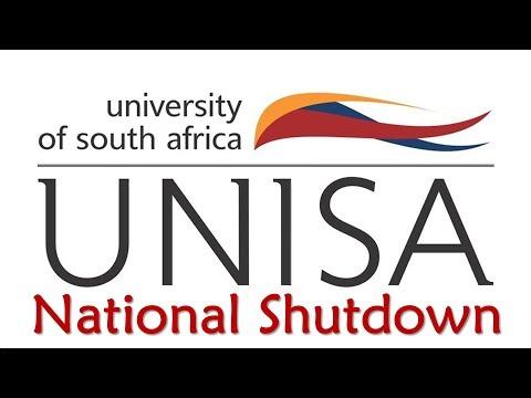 UNISA National Shutdown And Online Registration
