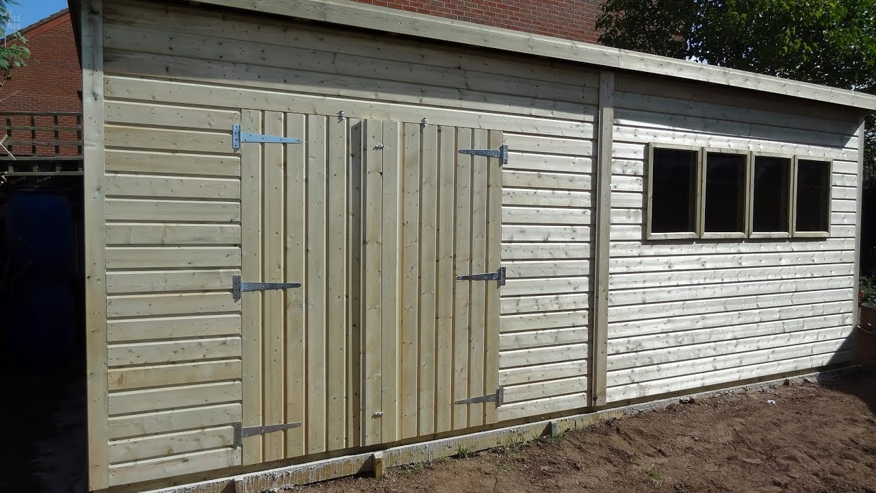My New Shed From Malvern Timber Framed Buildings, Ombersley ...