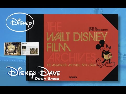 WALT DISNEY FILM ARCHIVES: THE ANIMATED MOVIES 1921-1968 Taschen Book | Book Review & Unboxing
