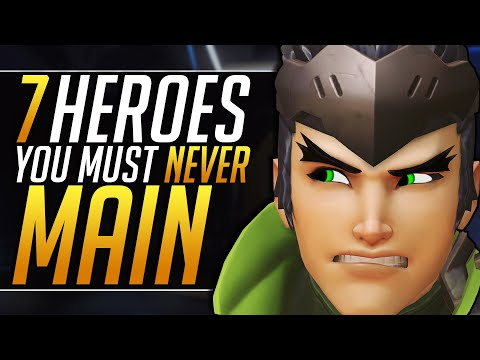 7 HEROES You MUST NEVER MAIN - Best Meta Tips And Tricks To CARRY   Overwatch Pro Ranked Guide