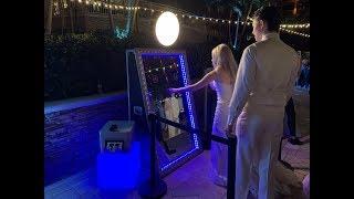 PHOto Mirror Booth @ a Wedding | JW Marriott