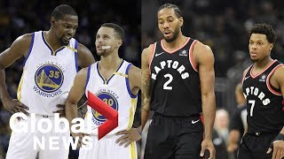 Toronto Raptors gear up to face Golden State Warriors in NBA F…