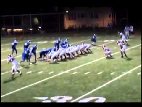 Shaun Jones - Balboa High School 2007 Football Highlights