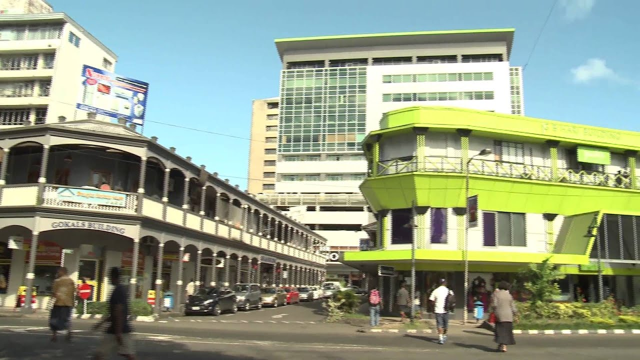 Suva Fiji  city photo : Suva City Tour : Fiji Island YouTube