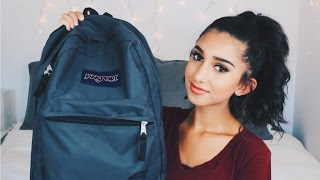 WHAT'S IN MY BACKPACK 2015!