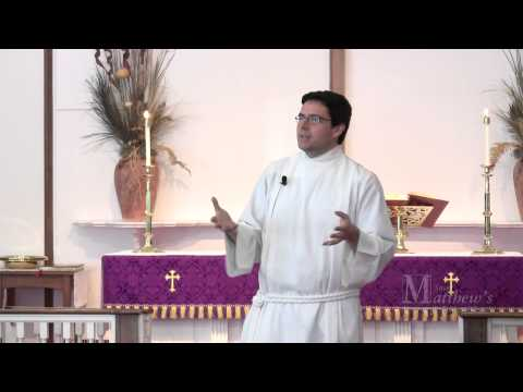 Countering Bad Theology -- Sermon Delivered by Grey Maggiano, St. Matt