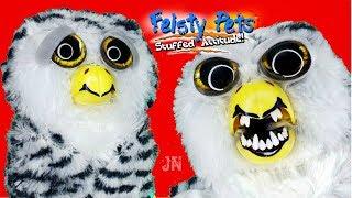 ОЧЕНЬ СТРАШНО????! САМАЯ ЗЛАЯ СОВА ОБЗОР Feisty Pets Owl Фейсти Петс