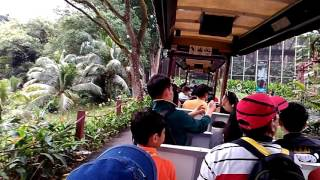Tram Ride at Jurong Bird Park , Singapore , June 2016 .