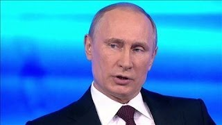 Putin Accuses Kiev of Serious Crime in Ukraine
