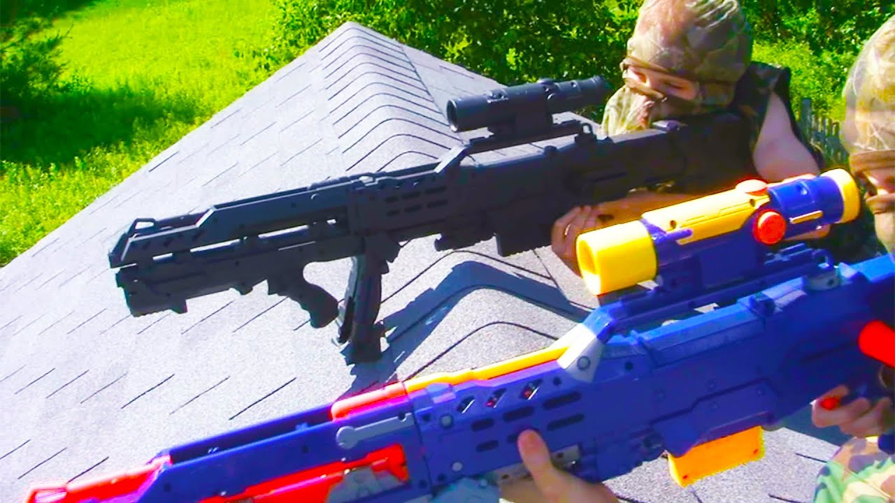 Nerf Squad 6: Drug Bust - YouTube