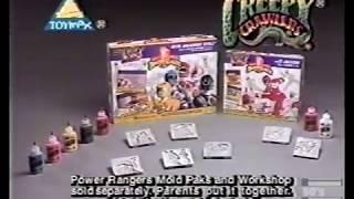 Creepy Crawlers Power Rangers Commercial 1994