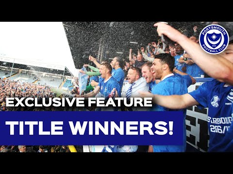 Pompey win the 2016/17 Sky Bet League Two title on final day
