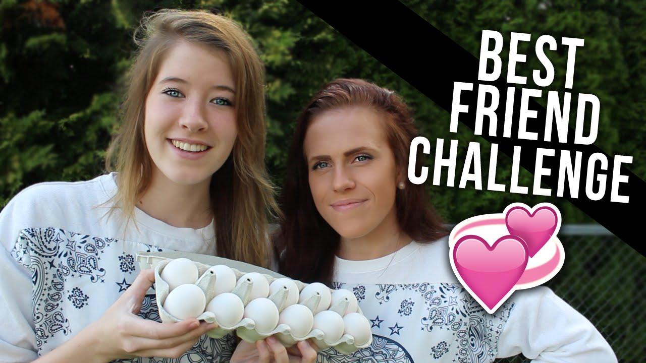 Best Friend Challenge! - YouTube
