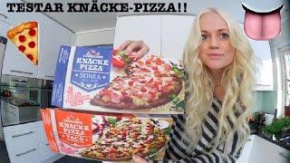 JAG TESTAR KNÄCKE-PIZZA!!