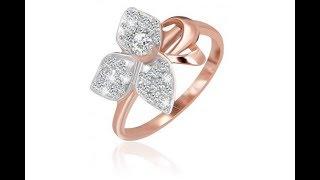 Серебряное кольцо с позолотой и фианитами 026 |  Обзор 360°