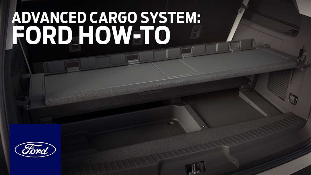 More Room With Advanced Cargo Management System Ford How To