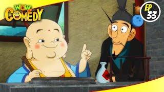 Little Buddha- S1EP33   Hindi Cartoon Show   Funny Videos For Kids   Wow Kidz Comedy