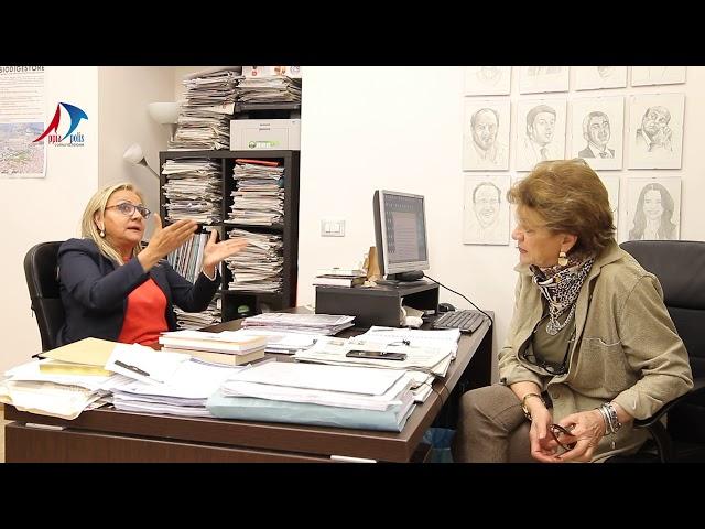 INTERVISTA A MARIA LETIZIA CANDIDATA  PER LE ELEZIONI  EUROPEE CON FRATELLI D'ITALIA