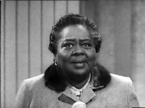 You Bet Your Life #59-34 Louise Beavers and an Angry Plumber ('Book', May 12, 1960)