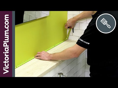 measure your bathroom in 7 easy steps - measuring tips from victoriaplum.com