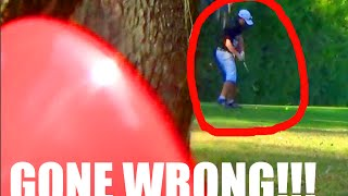 INSANE GOLFER ATTACKS KID! PRANK GONE WRONG!! Ghillie Suit Golf Course Air Horn | JOOGSQUAD PPJT thumbnail