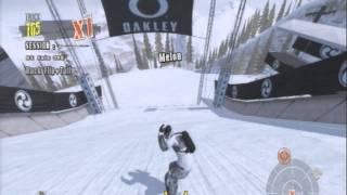 Shaun White Snowboarding Mountain Run PS3 Gameplay