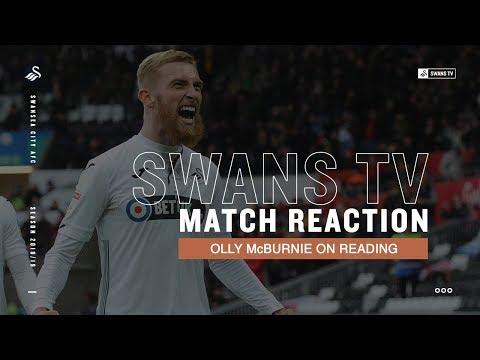 Match reaction: Oli McBurnie on Reading