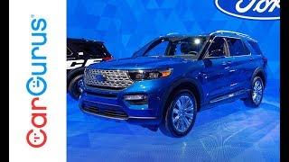 2020 Ford Explorer | 2019 Detroit Auto Show