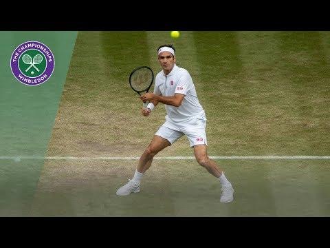 Roger Federer vs Matteo Berrettini Wimbledon 2019 Fourth Round Highlights