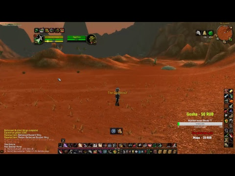 RUSSIAN Rogue / Leveling / /Grind in Tanaris / Questing / Dungeons  / Vanilla wow / Northdale