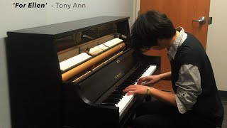 For Ellen - Tony Ann (Original Song)