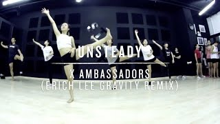 Unsteady (Erich Lee Gravity Remix) | Step Choreography (Level 1)