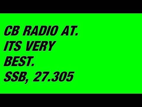 CB RADIO SSB TRIP CT908 ON THE  Hogs Back JIM CT2444