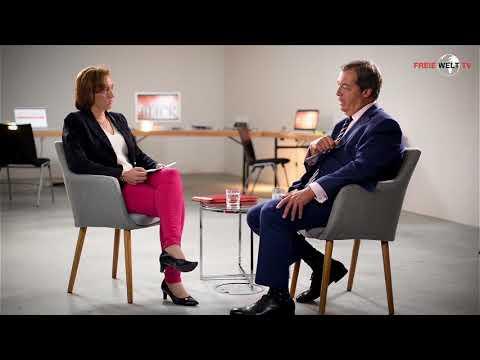 Freie Welt TV: Beatrix von Storch im Gespräch mit Nigel Farage TEIL 1/2