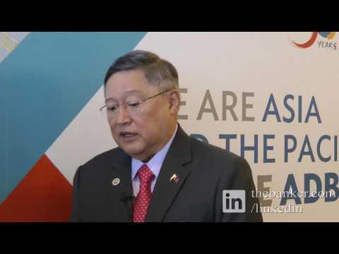 Carlos Dominguez, finance secretary, Philippines - View from ADB 2017