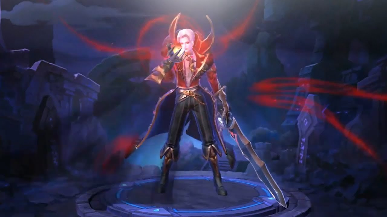 FIRST LOOK at NEW Alucard Viscount Skin (Mobile Legends) - YouTube