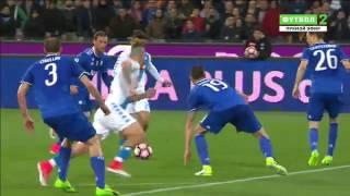 Наполи 1 1 Ювентус   Итальянская Серия А 2016 17   30 й тур   Обзор матча