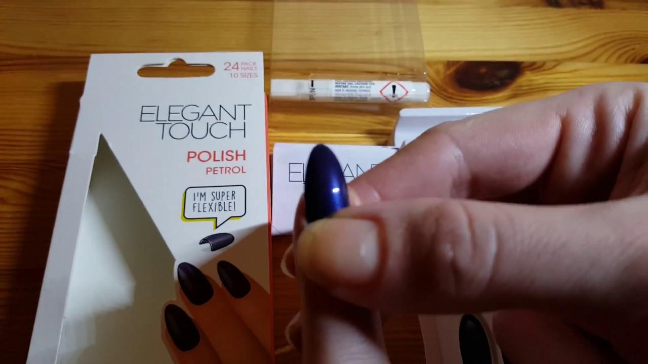 Elegant Touch Nails - petrol - YouTube