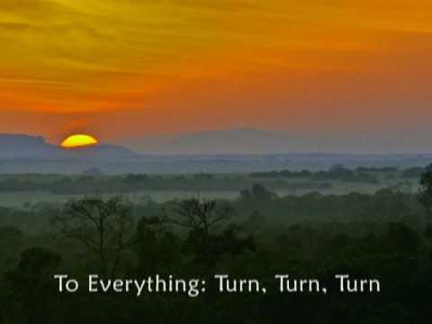 Turn! Turn! Turn! Ecclesiastes 3:1-15 MV