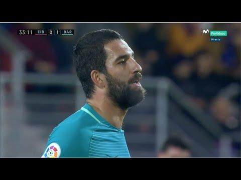 Arda Turan vs SD Eibar (Away) (22/01/2017) 720p HD by EC17