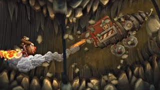 "Donkey Kong Country Returns - Part 15: ""Rocket Barrel Ride!"""