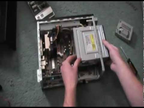 Disassemble Hp Slimline Desktop Hardware Tutorial Youtube