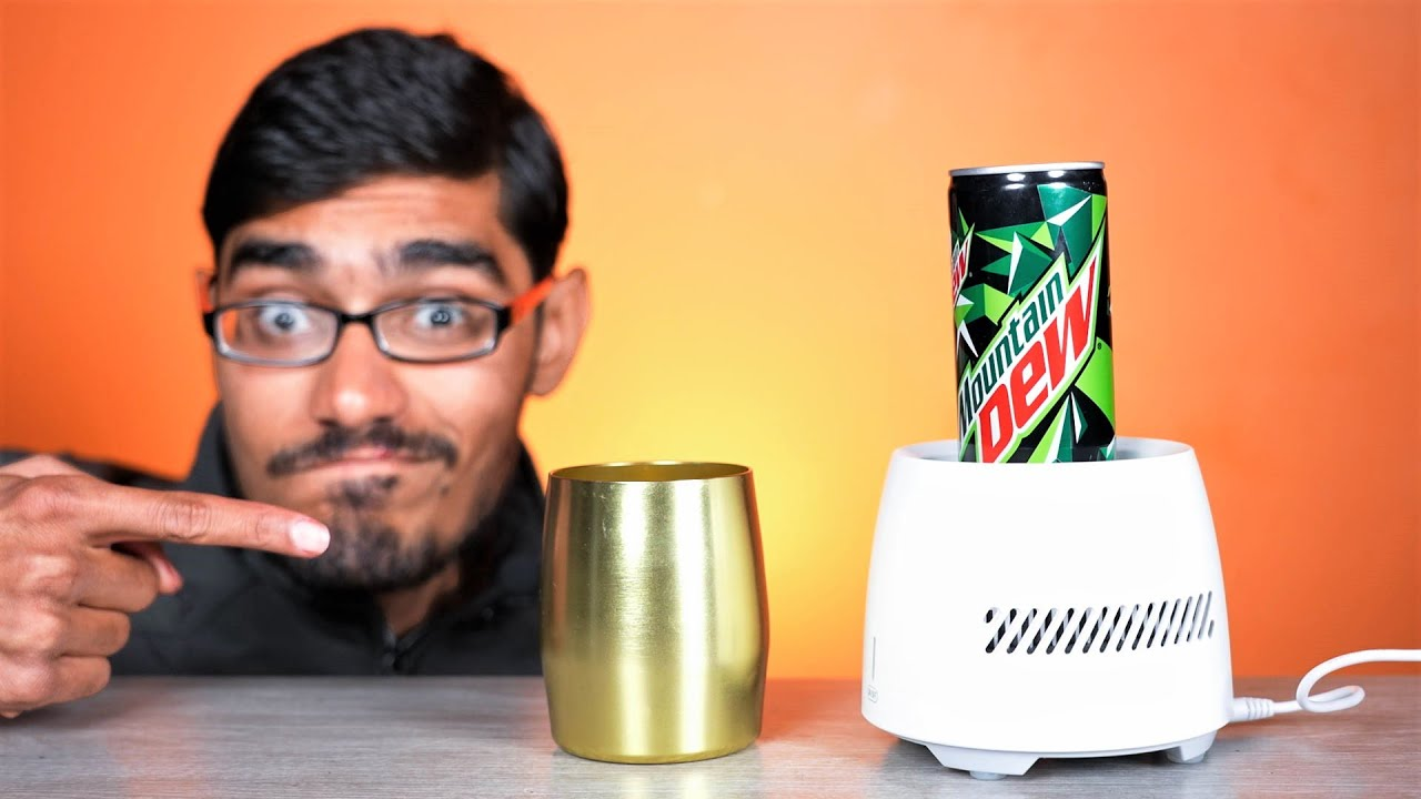 CAN CHILLER!- Quick Cooling Cup Unboxing | Does it Really Work?