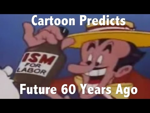 Cartoon predicts the future more than 60 years ago. This is amazing insight!